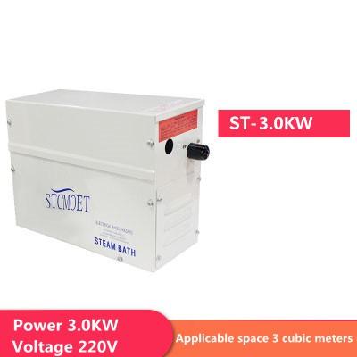 ฝักบัว:3KW Steam Generator Home Steam Machine Sauna Bath SA Steam Shower 220V with Digital Controller