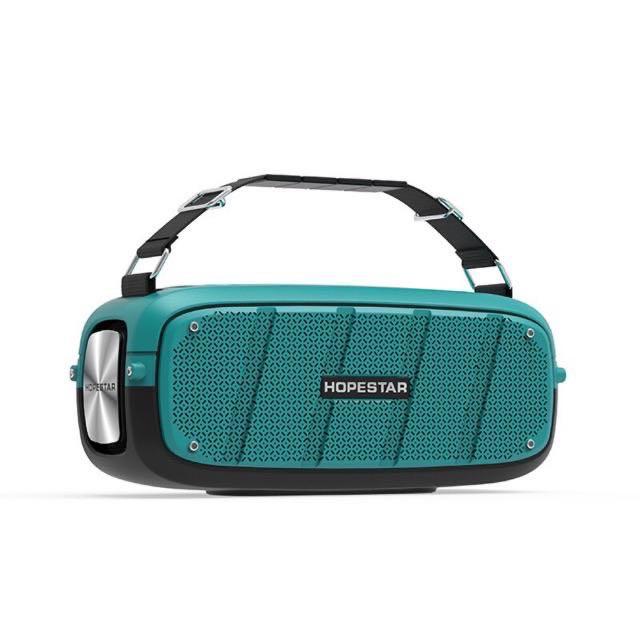 ้hopestar A20 Pro ลำโพงบลูทูธ เสียงดีเบสแน่น ดังกระหึ่ม ของแท้ 100% (แถมไมโครโฟน wireless)
