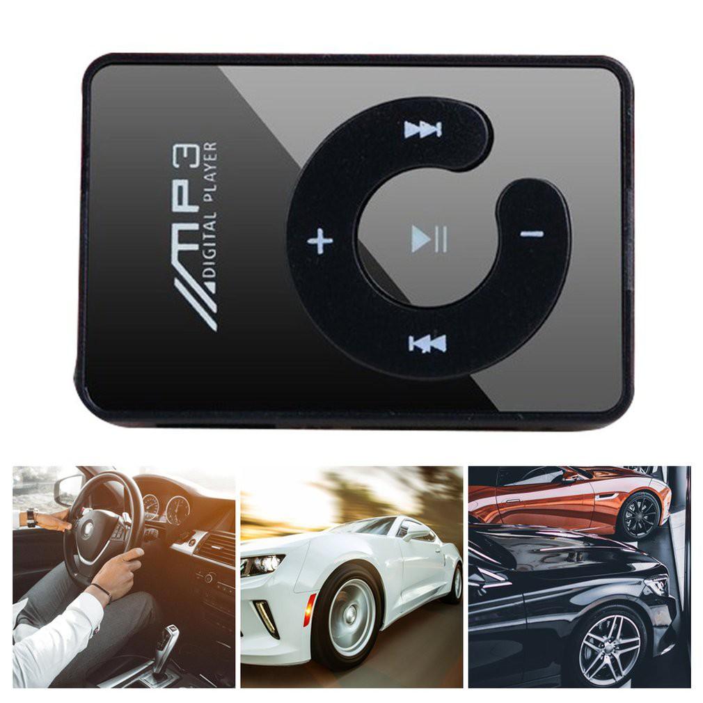 เครื่องเล่นเพลง MP3 ขนาดเล็ก แบบพกพา รองรับ USB Micro การ์ด SD TF HIFI