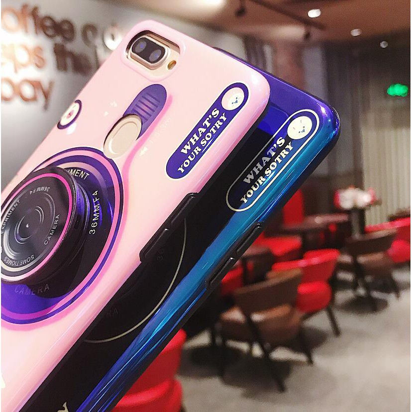 Image # 1 of Review เคส Asus Zenfone Max Pro M1 M2 ZB601KL ZB602KL ZB631KL ZB633KL 3D Fashion Blue Ray Soft Case