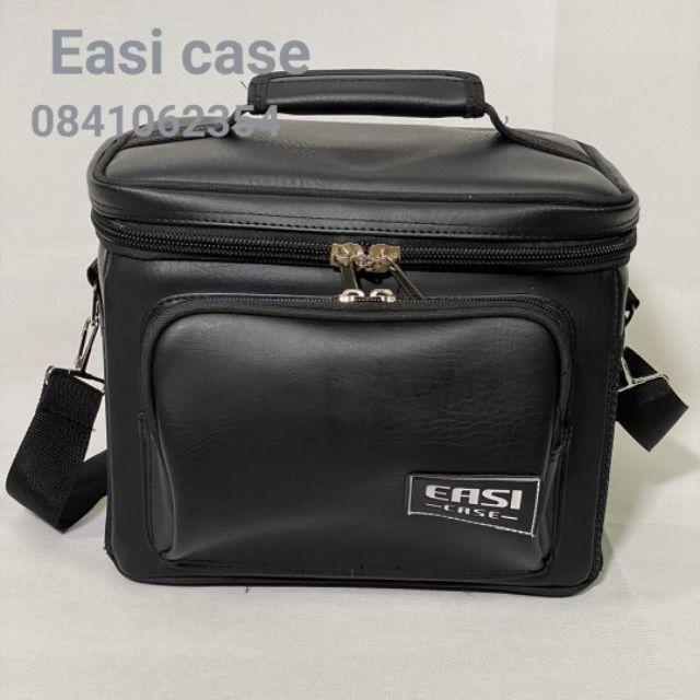 กระเป๋าใส่ลำโพง บลูทูธ    Marshall Kilburn 1,2 ตรงรุ่น     จาก  Easi case.   (หนัง ) PVC ขนาด  24*14*16 ซม.   W D H