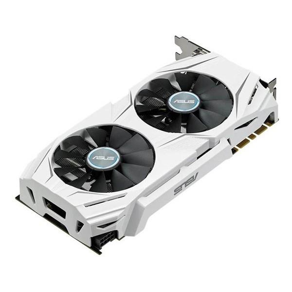 -ขายแล้ว- ASUS GTX 1070 DUAL OC 8GB DDR5 สีขาว มือสอง ไม่มีกล่อง