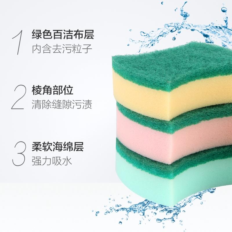 แม้วแปรงล้างจานทำความสะอาดแปรงจานเช็ดกำจัดสิ่งสกปรกบนแผ่นน้ำยาล้างจานกำจัดสิ่งสกปรกบนฟองน้ำ