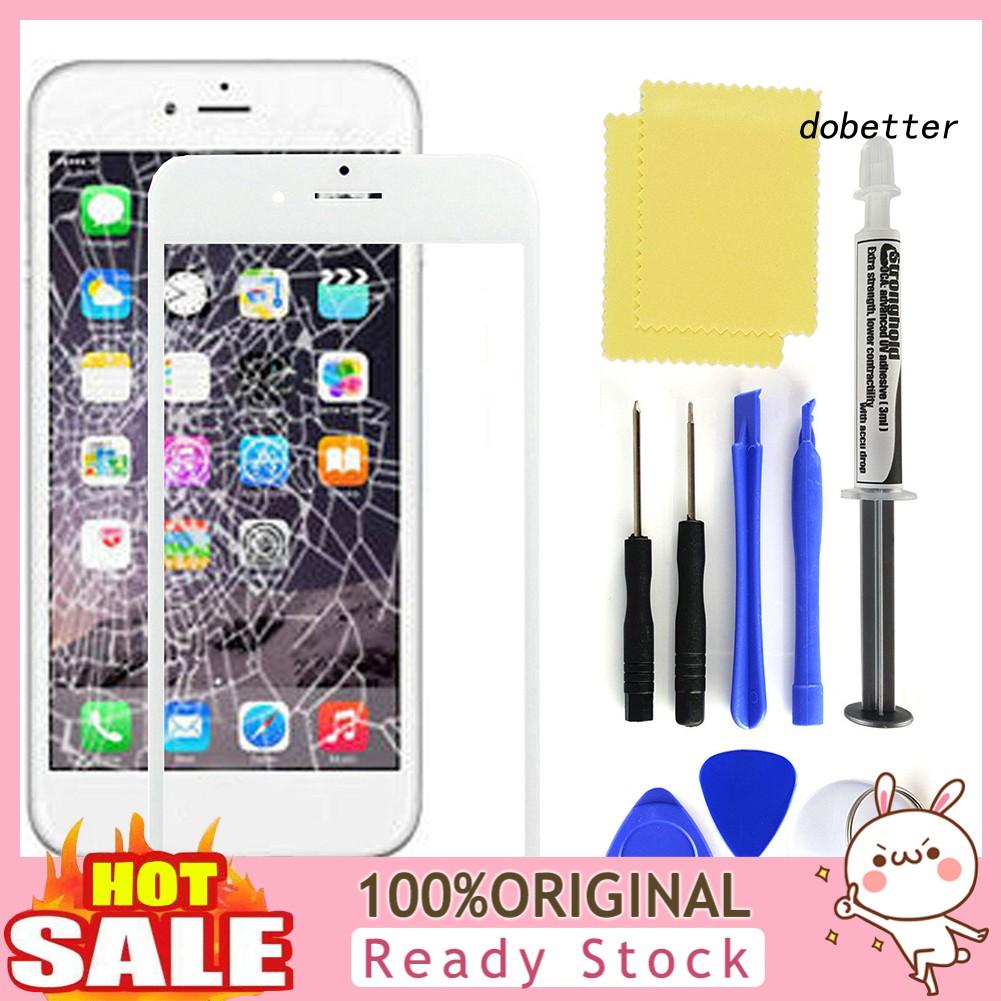 Doh_ ชุดกาวในตัวหน้าจอสัมผัสสําหรับ Iphone 6s 7 8 Plus