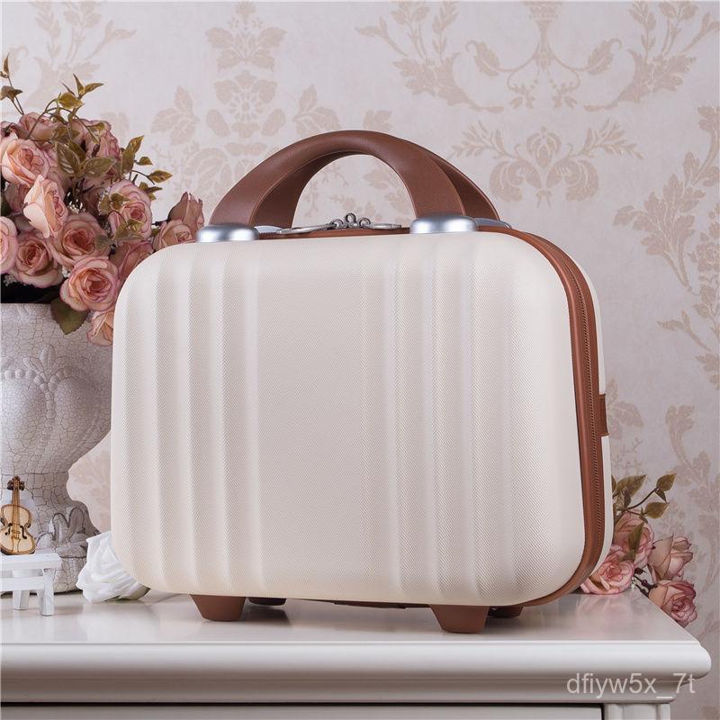 กระเป๋าเดินทางน่ารักเล็กๆน้อยๆกระเป๋า14กรณีแต่งหน้าพกพานิ้วมินิ16กระเป๋าเดินทางขนาดความจุขนาดใหญ่COD rlg1