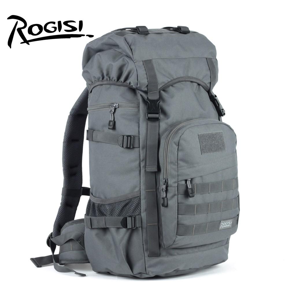 ROGISI Lu Jieshi 50L กระเป๋าเดินทางกลางแจ้งสำหรับผู้ชายและผู้หญิงกันน้ำไหล่เดินป่ากระเป๋าเป้สะพายหลัง BN-0171