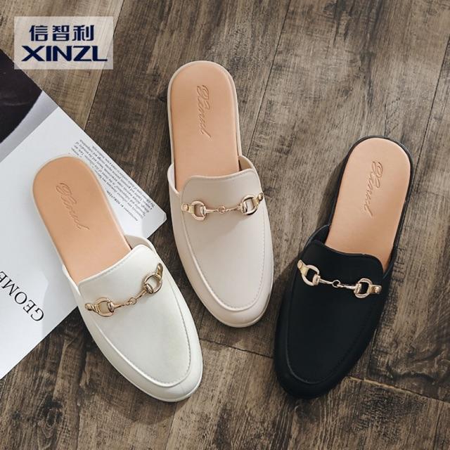รองเท้าผู้หญิง รองเท้าหัวแหลม❤️รองเท้าส้นแบน รองเท้าแฟชั่น รองเท้าคัชชู
