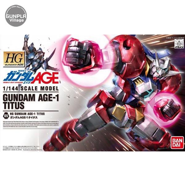 Bandai HG Gundam AGE-1 Titus 4543112716231 4573102573841 (Plastic Model)