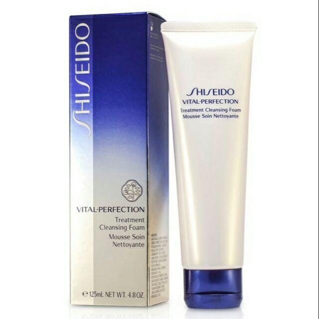 �ล�าร���หารู��า�สำหรั� shiseido Vital Perfection Treatment Cleansing Foam