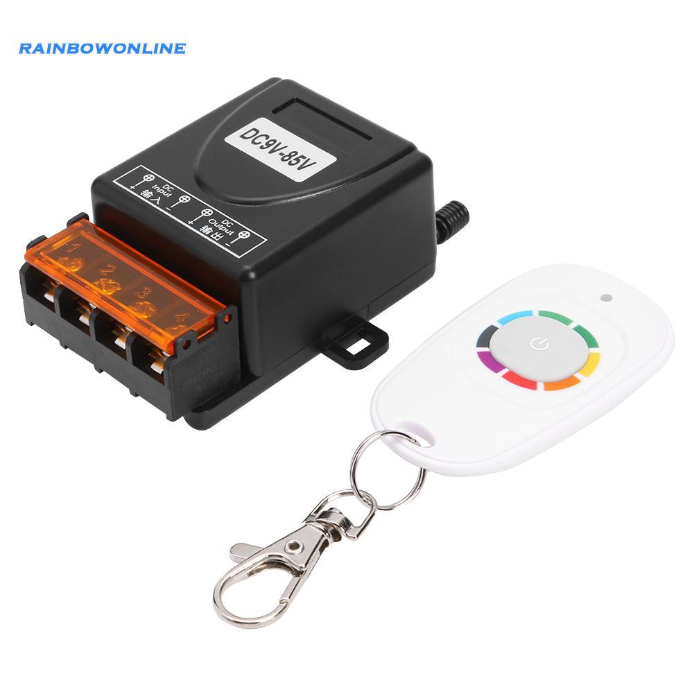 DC9V-85V Universal Relay 1 Channel Wireless Remote Control Switch for Light Lamp