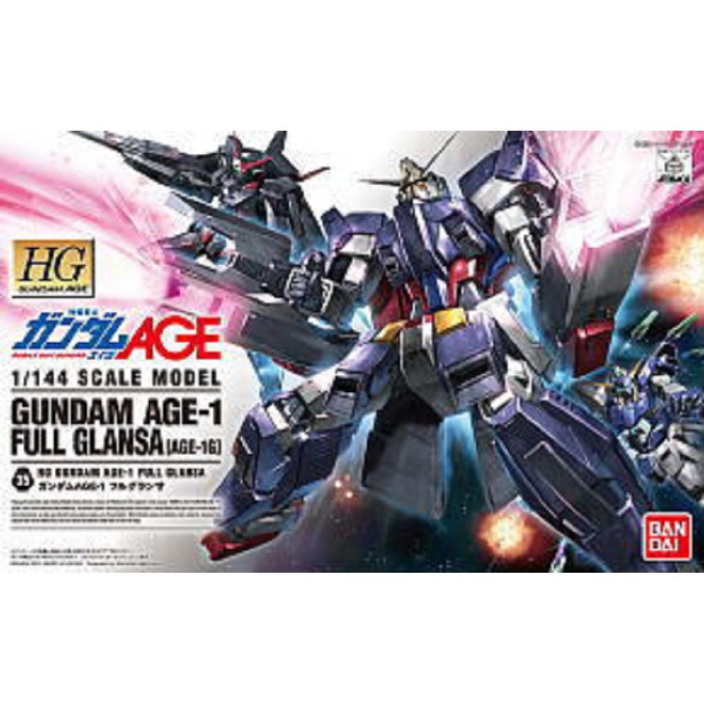 Hg Gundam Age-1 Glanza ถุงมือแบบเต็ม