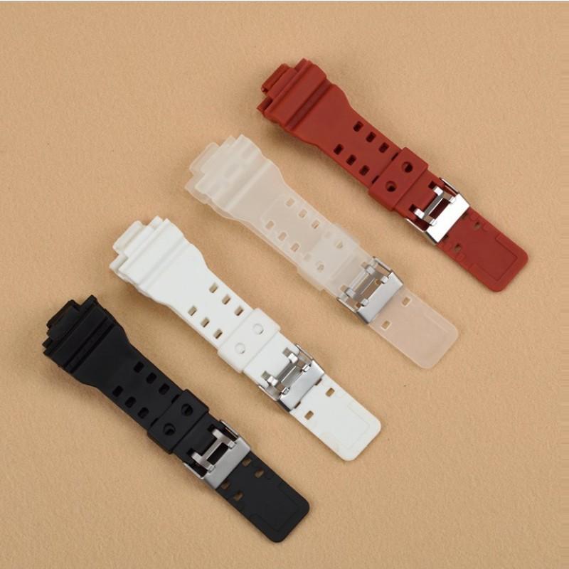 สาย applewatch แท้ สาย applewatch สายนาฬิกา 30x16 mm ใช้ได้กับ Casio G Shock และ Sport Watch แถมเครื่องมือถอดสายและสปริง