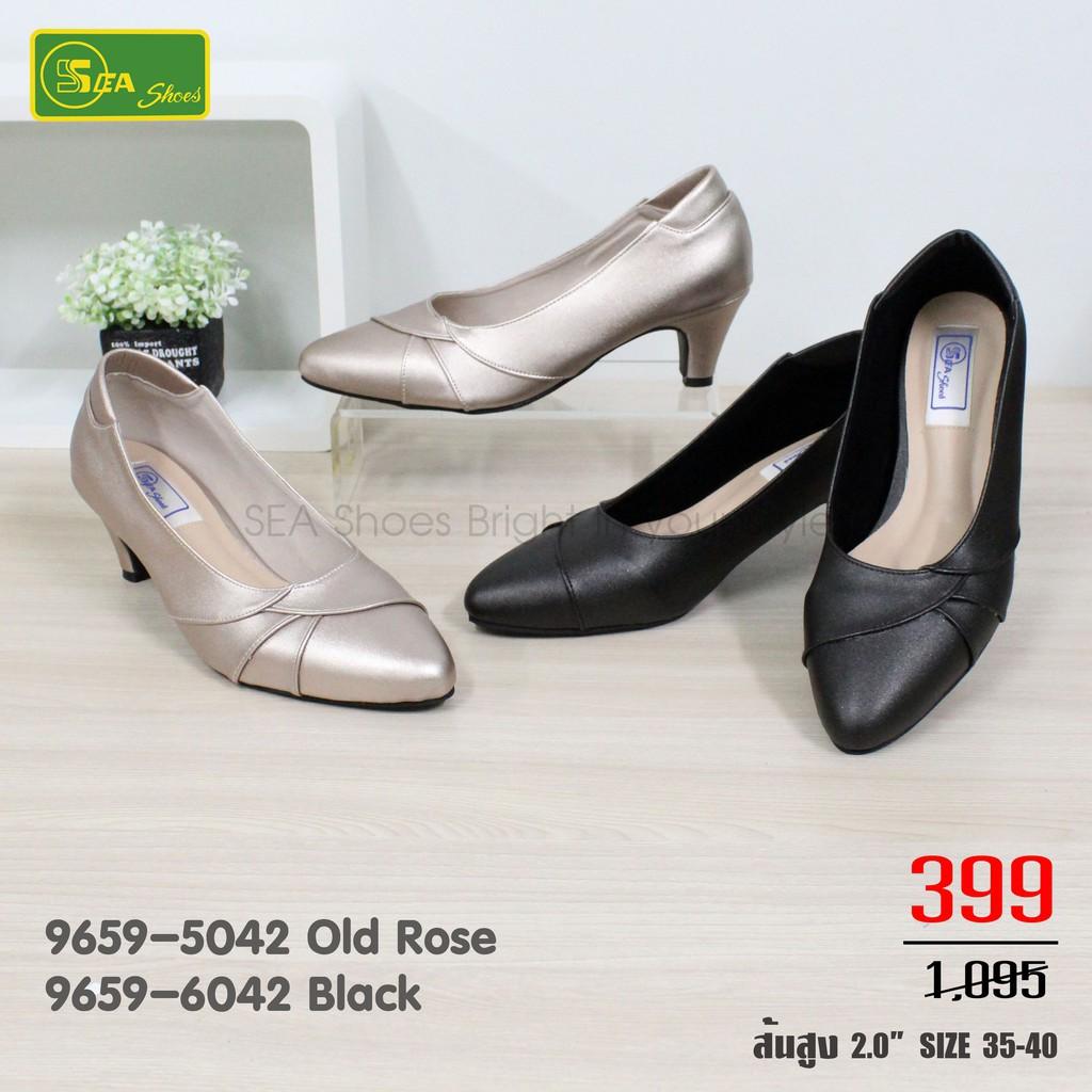 SEA Shoes รองเท้าคัชชูหัวแหลม 9659-042