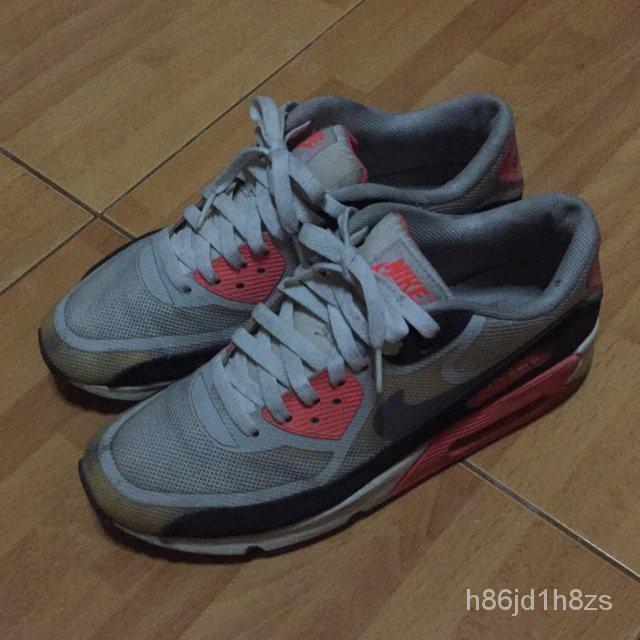 ️️️️ **ของแท้ 100%️**Nike airmax90 infrared taped size 9us 8uk