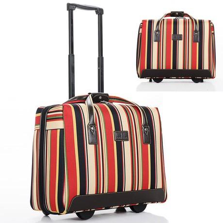กระเป๋าเดินทางมีซิปขนาด 18 นิ้ว 16 นิ้ว
