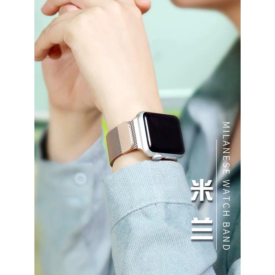 Apple Watch Series 6 5 4 3 2 1 สายสแตนเลส applewatch ขนาด 38/40/42 / 44mm MLqu