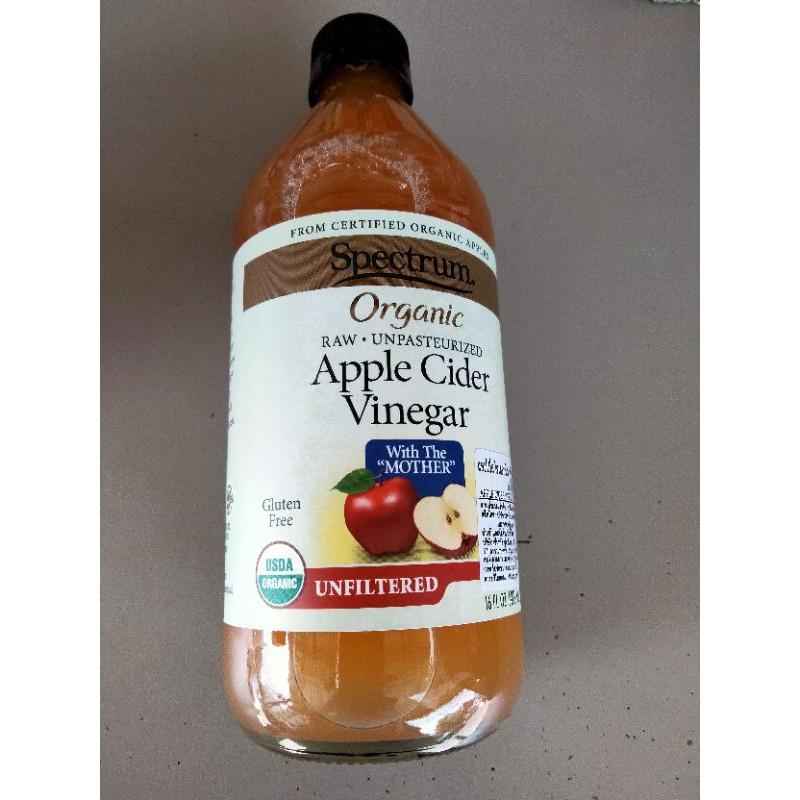 Spectrum Organic Apple Cider Vinegar Unrefined 473ml