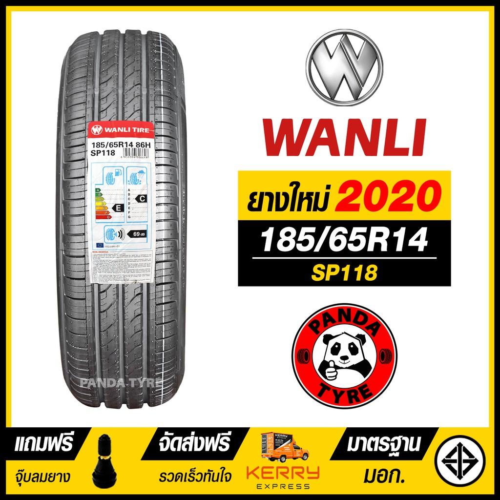 ยางรถยนต์ WANLI 185/65R14 (ขอบ14) รุ่น SP118 จำนวน 1 เส้น (ยางใหม่ปี 2020)
