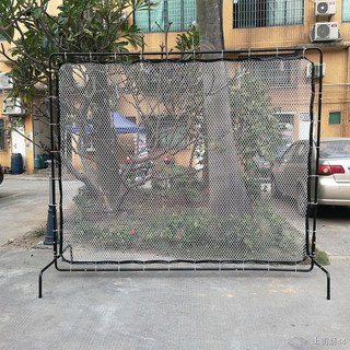 ❉♗✒ACE Tennis Training Net, Rebound Professional Wall, Mobile Ais Wall Inclined Portable Indoor and Outdoor