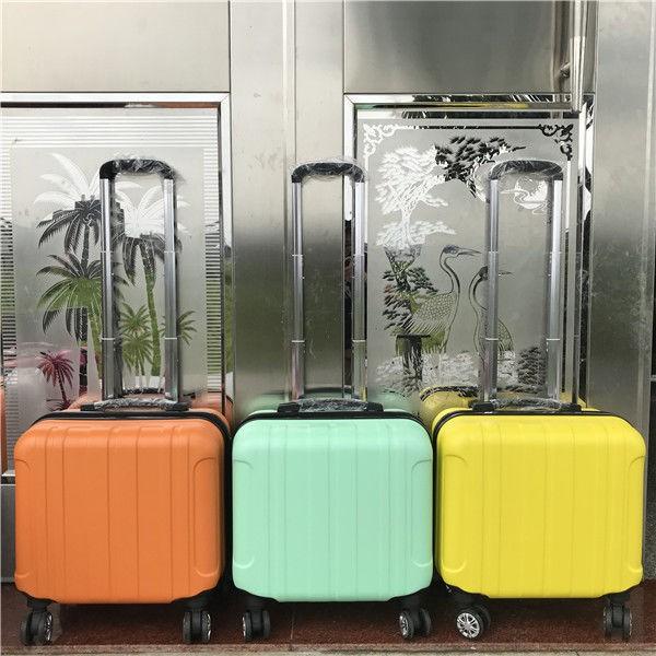 ☸กระเป๋ารถเข็นเด็กเล็ก 14 นิ้ว, กระเป๋าเดินทางใบเล็กหญิง 18 นิ้ว 16 กระเป๋าเดินทางมินิกระเป๋าเดินทางชาย