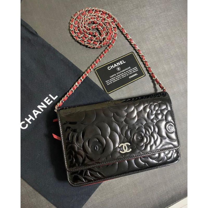 Used Chanel Woc patent Holo15 แท้100% ราคาเทๆค่ะ