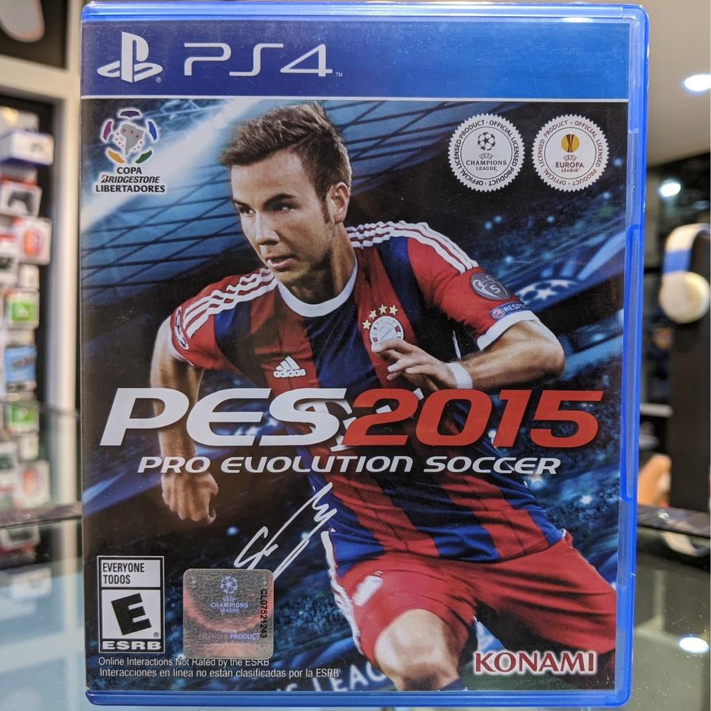 (ภาษาอังกฤษ) มือ2 PES 2015 แผ่นเกมPS4 แผ่นPS4 มือสอง (เกมเล่น2คนได้ Pro Evolution Soccer Football เกมฟุตบอล Fifa)