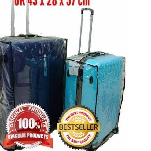 ผ้าคลุมกระเป๋าเดินทางแบบใสขนาด 24 นิ้ว 24 นิ้ว