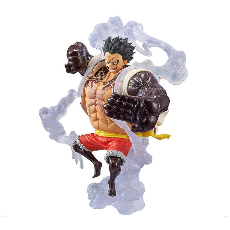 18cm Anime Figure Luffy Four Gear Action Figure VC New Collection Figures Toys Brinquedos Collection 1 iece Luffy