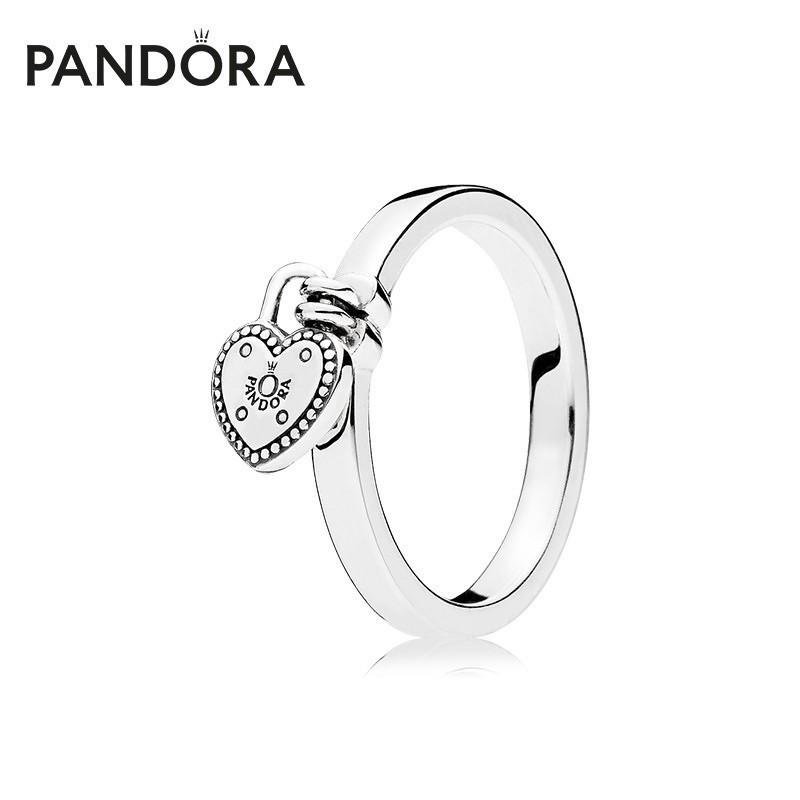 แหวน Pandora รุ่น Love Lock Ring /// size 52💍 | Shopee Thailand