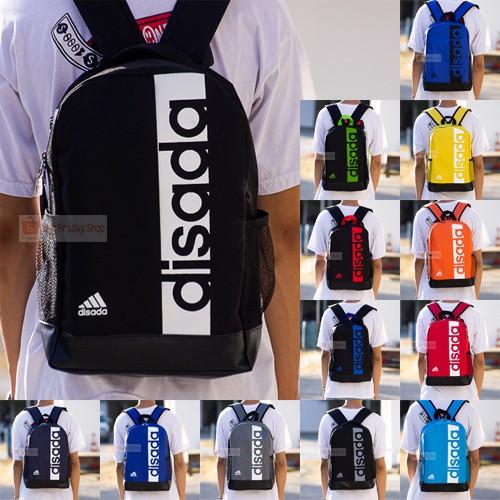 (พร้อมส่ง) กระเป๋าเป้ Disada(ไดซาดะ) No.02 กระเป๋าสะพายหลัง สะพายหลัง กระเป๋าแฟชั่น กระเป๋านักเรียน กระเป๋าเป้นักเรียน.