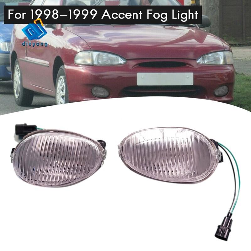 หลอดไฟตัดหมอกสําหรับ 1998-1999 Hyundai Accent CroK