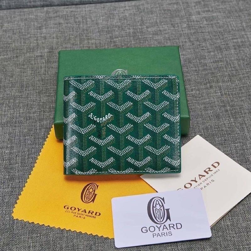 👌Goyard wallet top ออริ 📌size 11 cm.  หนังแท้งานสวย