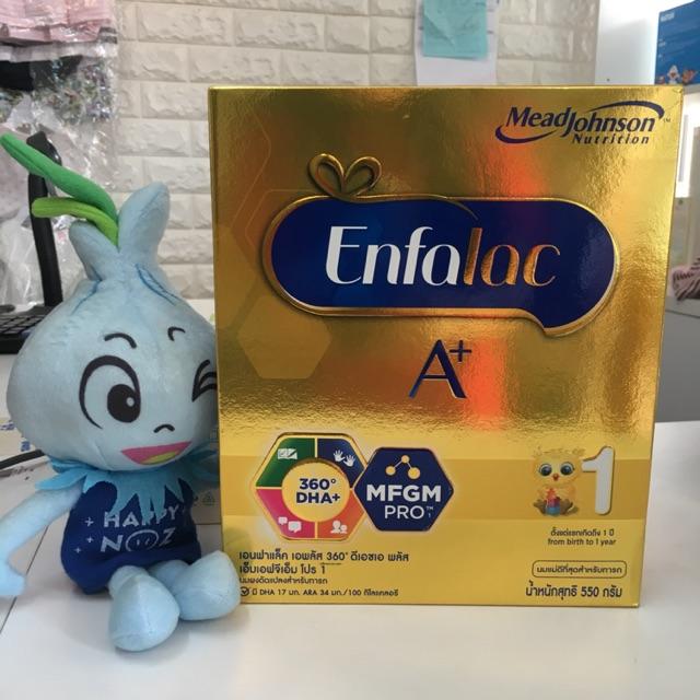 Enfalac A+ สูตร 1 ตั้งแต่แรกเกิด-1ปี ขนาด 550 กรัม