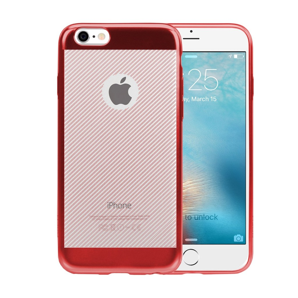 Apple Iphone 6 Plus 6s Mercury Dream Bumper Goospery Hybrid Case Coral Blue Shopee Thailand