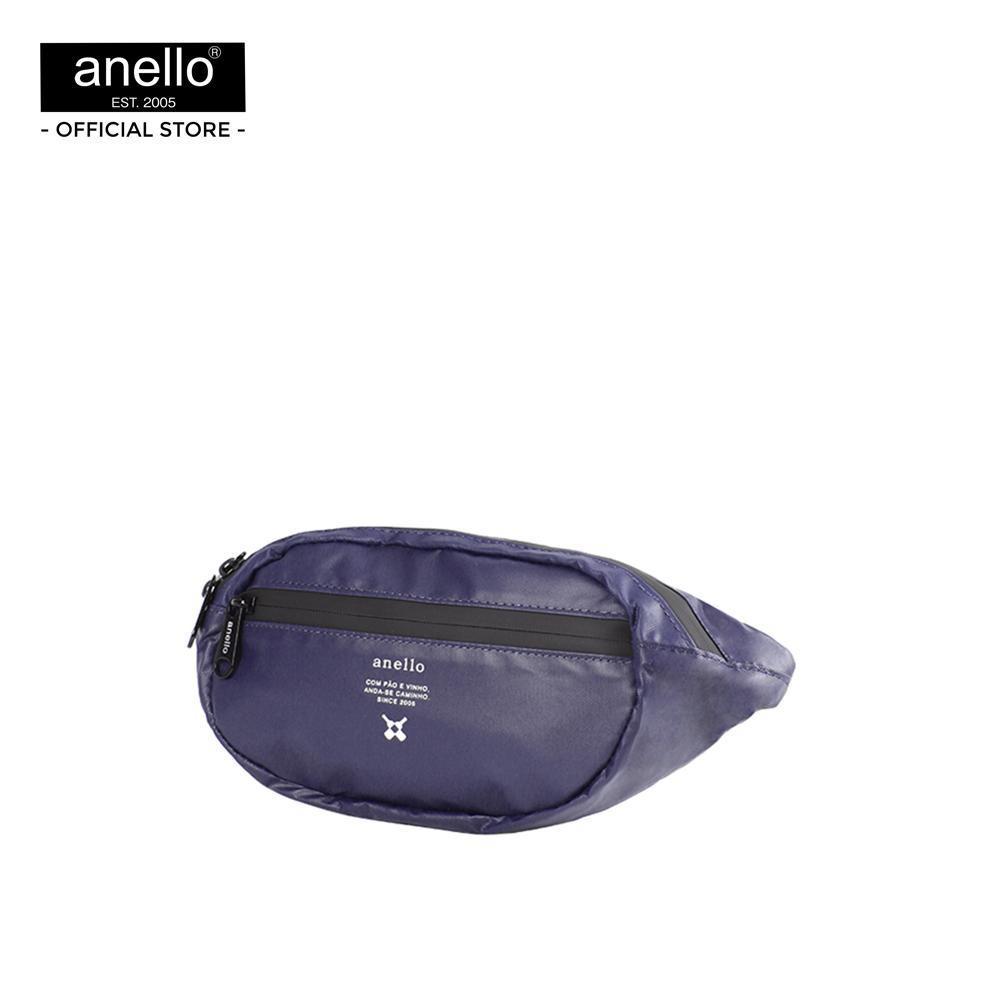 Anello กระเป๋าคาดเอว  REG W-Proof Waistbag_OS-N019 - PURPLE