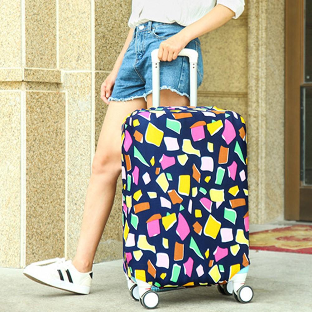 กระเป๋าเดินทางแบบยืดหยุ่นกันฝุ่น 18 นิ้ว-28