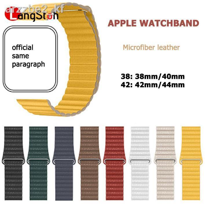 ☾สาย applewatch สายหนัง apple watch series 3 4 5 6 สายแฟชั่นแม่เหล็ก ข้อมูลจำเพาะ: 38 (สำหรับ มม. / 40 มม.) และ 42 44  w