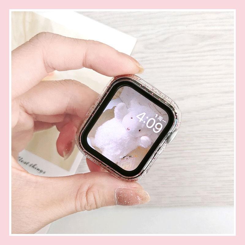 ( Promotion ) ฟิล์มกันรอยสําหรับ Applewatch5 Iwatch6 Apple Se Watch 4