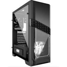 Azza Titan 240 Mid-Tower Computer Gaming Case, Black (CSAZ-240 Titan)