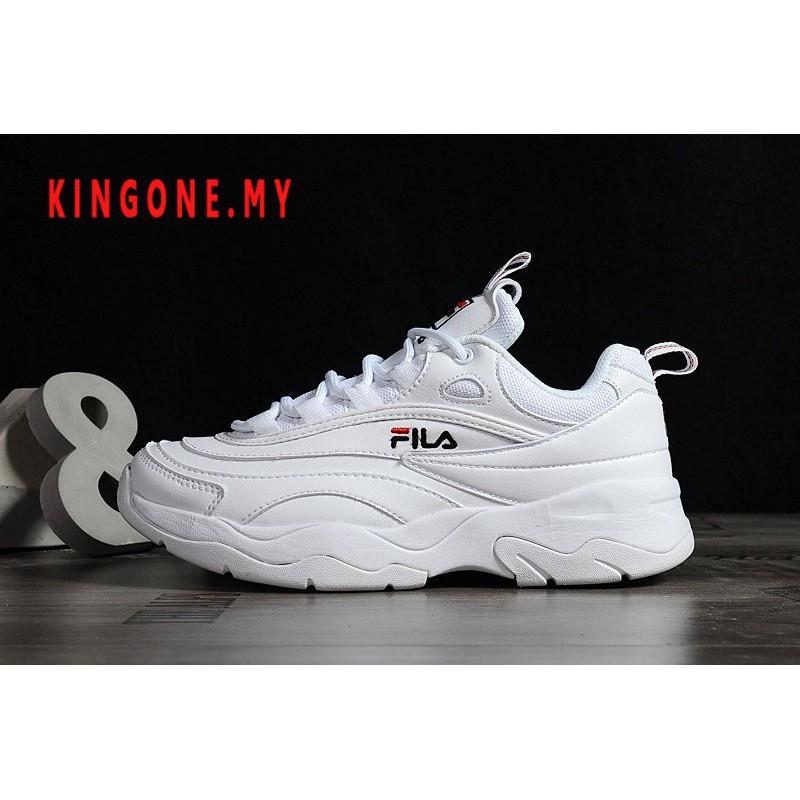 Original ฟิล่า Fila Ray รองเท้าผ้าใบรองเท้าวิ่ง 9