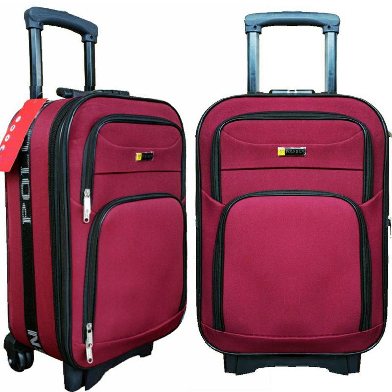 กระเป๋าเดินทางผ้าขนาด 18 นิ้ว