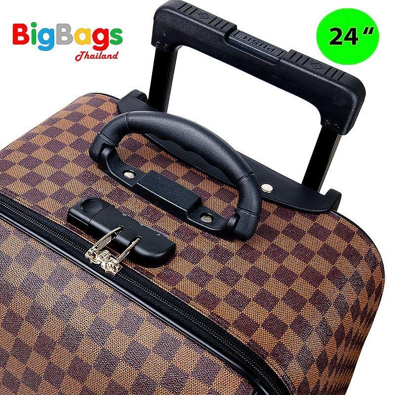 """กระเป๋า kumamon✹●Polo กระเป๋าเดินทาง ล้อลาก ระบบรหัสล๊อค เซ็ท 3 ใบ (24""""+18""""+14"""") นิ้ว รุ่น Luxury"""