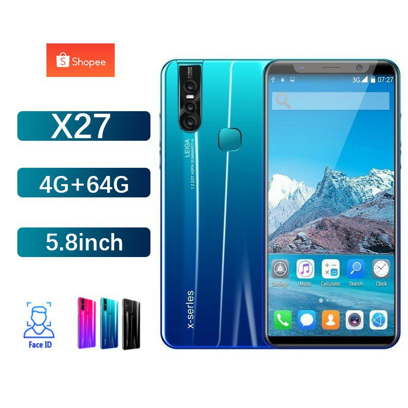 ใหม่โทรศัพท์ราคาถูก HUAVEI โทรศัพท์มือถือ โทรศัพท์ สมาร์ทโฟน 4G มือถือราคาถูก 5.8 นิ้ว 4+64gb โทรศัพท์ โทรศัพท์ราคาถูกๆ