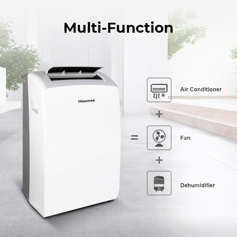 Hisense แอร์เคลื่อนที่ 12000 BTU AP-12CR4RNXS00 portable air conditioner NEW