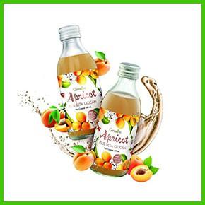กิฟฟารีน เครื่องดื่มเพื่อสุขภาพ แอพริคอต พลัส เบต้ากลูแคน น้ำองุ่นขาวผสมแอปริคอท - Giffarine Apricot Plus Beta Glucan