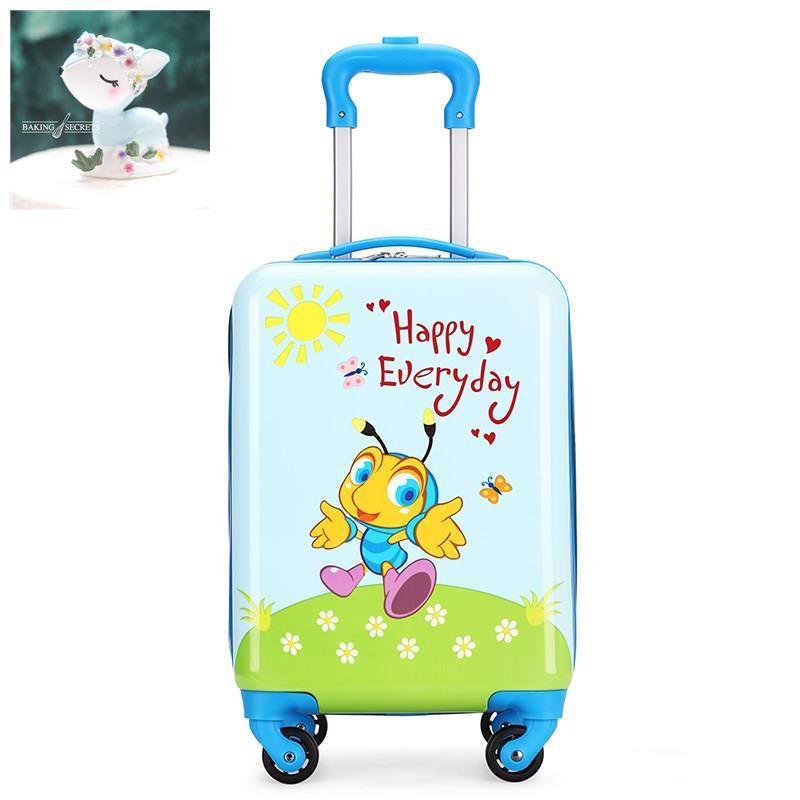 กระเป๋าเดินทางเด็กรถเข็นเด็กอนุบาล 16 นิ้วกระเป๋าเดินทางสำหรับเด็ก ชายและหญิง, กระเป๋าเดินทางเด็ก, กระเป๋าเดินทางขนาดเล
