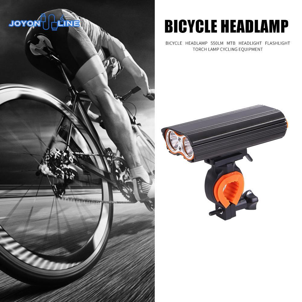 5V USB Rechargeable Mountain Bike Bicycle Cyling Headlight Lights Riding Torch