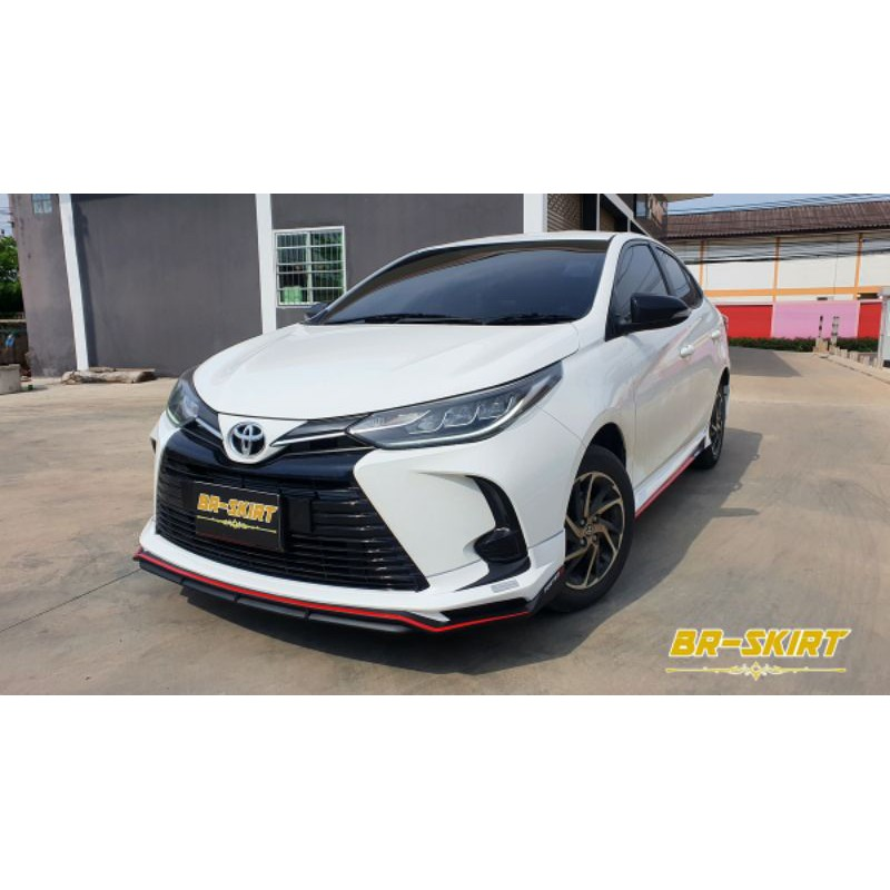 ♦️ชุดแต่งสเกิร์ต Toyota Yaris Ativ 2021 รุ่น Fortezza ♦️