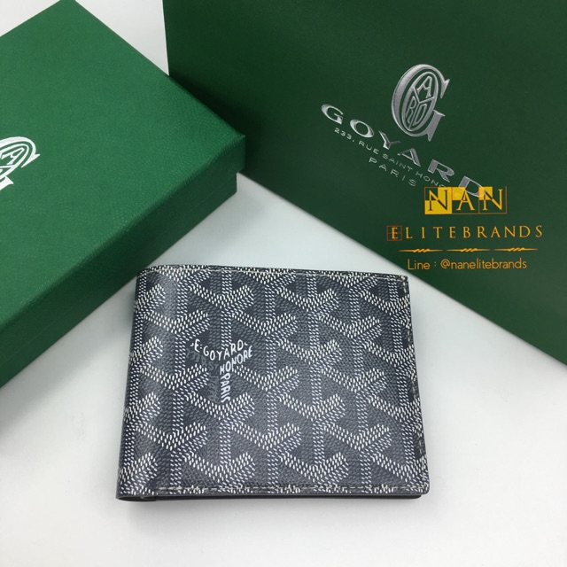 New Goyard 8 Cards Wallet Grey
