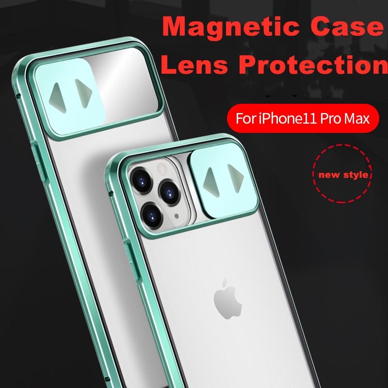 เคสโทรศัพท์มือถือแบบสองด้านสําหรับ Iphone 11 Pro Max Se 2 2020 7 8 Plus X Xs Xr